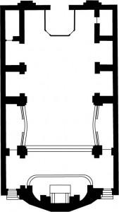 Plan de l'Eglise St Joseph